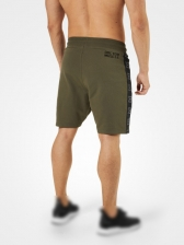 Color Block Sideseam Sporty Men Short Trousers