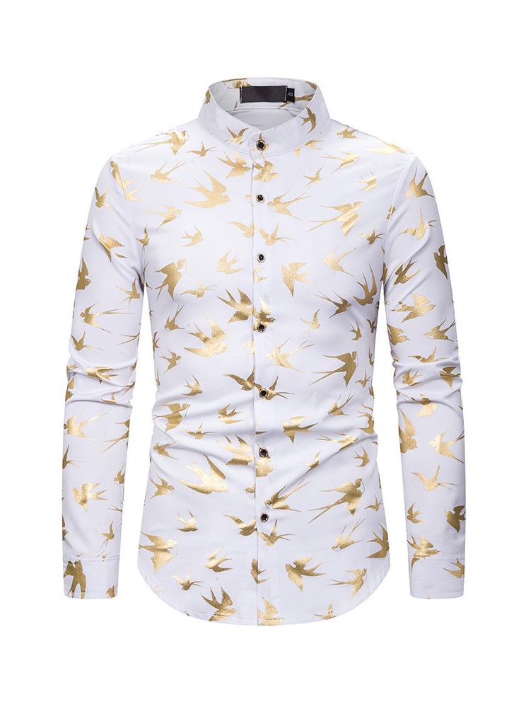 Night Club Animal Pattern Shirts For Men