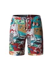 National Summer Printed Short Pants For Men