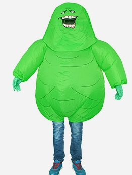 Funny Green Monster Inflatable Suit