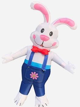Cartoon Rabbit Shape Inflatable Suit