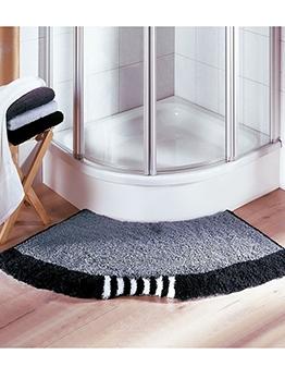 Simple Bathroom Sector Anti-Slip Doormat