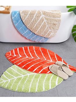 Modern Leaves Shape WaterAbsorption Floor Mat