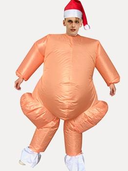 Turkey Shape Adult Blow Up Suit