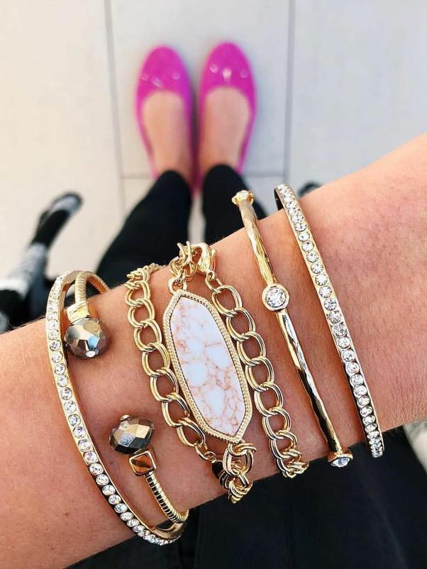 Bohemian Studded Ankle Bracelet Set