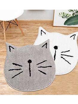 Cute Cartoon Cat Non-Slip Funny Doormats