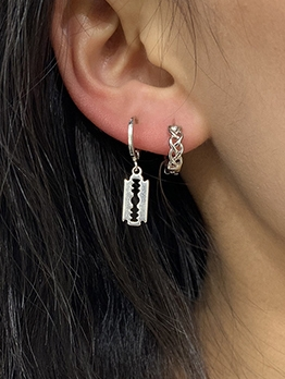 Irregular Stylish Hollow Out Earring