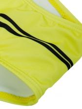 Printed U Neck Front Zipper Sleeveless Cheap Bodysuit