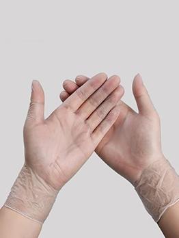 Transparent PVC Disposable Hand Gloves