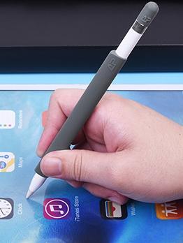 Simple Design Solid Silicone Apple Pencil Case