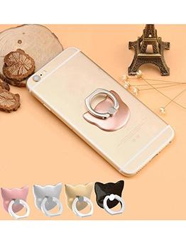 Cartoon Pattern Rotatable Phone Ring Holder