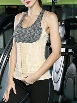 Solid Vest Waist Trainer Cincher Corset