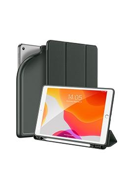 Solid Pencil Slot Flip Type Ipad 7 10.2 Case