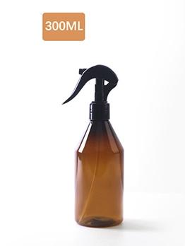 300ML Transparent Pump Spray Bottle