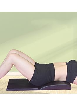 Abdominal Training Sit-Ups Black Pu Folding Fitness Mat