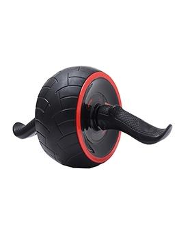 Black Stitching Red Automatic Rebound Abdominal Power Roller