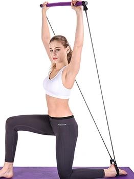 Yoga Accessories Foam Patchwork Women Pull Bar Fitness Equipment