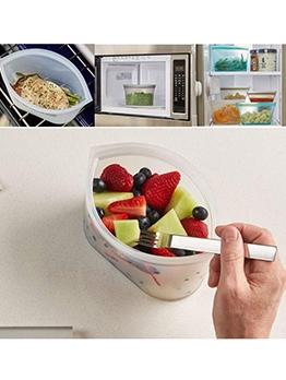 Ziplock Bowl Shape Three Piece Food Storage Bag