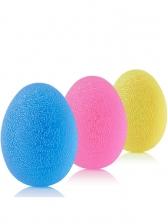 High Elastic Random Color Silicone Egg Shape Grip Ball