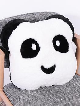 Cartoon Panda Fluffy With Insert Throw Pillows