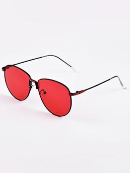 Classic Metal Frame Unisex Aviator Sunglasses