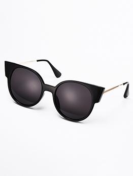 Fashion Round Lenses Cat Eye Sunglasses