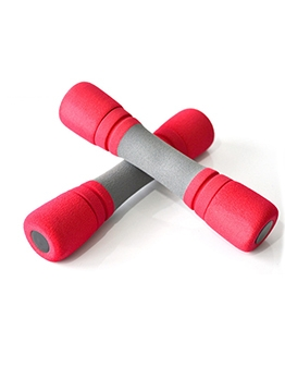 Stitching Color Sponge Patchwork Home Fitness Dumbbell For Sale