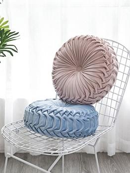 Euro Round Solid Chair Floor Seat Cushion