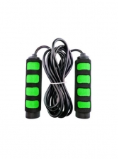 Random Color Non-Slip Color Patchwork Handle Rope Skipping