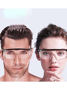 Adjustable Temple Anti Fog Safety Glasses