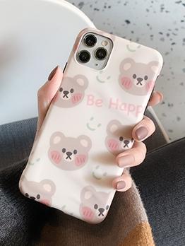 Cartoon Bears Print Iphone 11 Case Iphone Cover