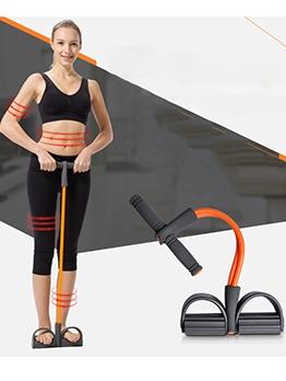 Exercise Abdominal Non-Slip Foam Handle Unisex Sit-up Pedal Puller