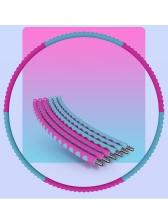Colored Splice Detachable Foam Tube 3 Pounds Adult Hula Hoop