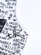 Leisure Letter Printed Mens Vest