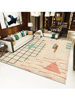Modern Home Decor Geometric Printed Floor Mat