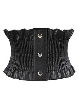 Simple Easy Matching Elastic Waist Corset Belt