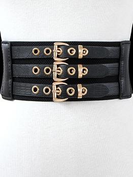 Fashion Design Elastic Waist Corset Belt