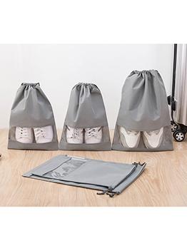 Dust Proof Folding Drawstring Shoes Storage Bag