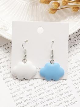 Cute Cloud Drop Earrings For Women