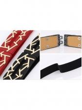 Metal Clip Buckle Elegant Thin Belt