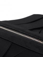 Vintage Lace Up Zipper Corset Belt