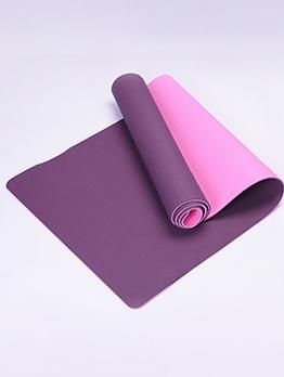 Rollable Lightweight Non-Slip 173cm*61cm Solid Color Yoga Mat