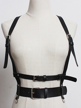 Multiple Buckle Adjustable Women Straps Belt