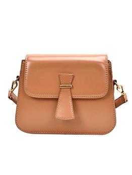 Simple Style Detachable Belt Crossbody Shoulder Bags