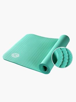 185cm*80cm Pure Color NBR Material Non-Slip Yoga Mat