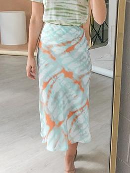 Summer High Waist Pencil Skirt For Women