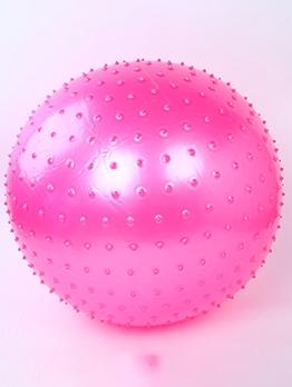 Touch Sense Pure Color Diameter 75cm Big Exercise Ball For Yoga