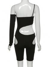 Chic Design Cut Out Off Shoulder Bodycon Romper