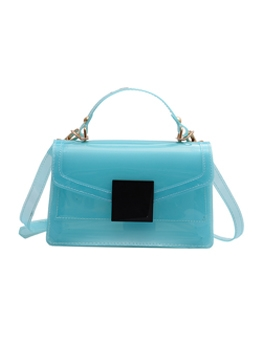 New Arrivals Plastic PVC Jelly Shoulder Bags With Handle