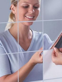 Fashion Soft Mirror Waterproof Wall Stickers